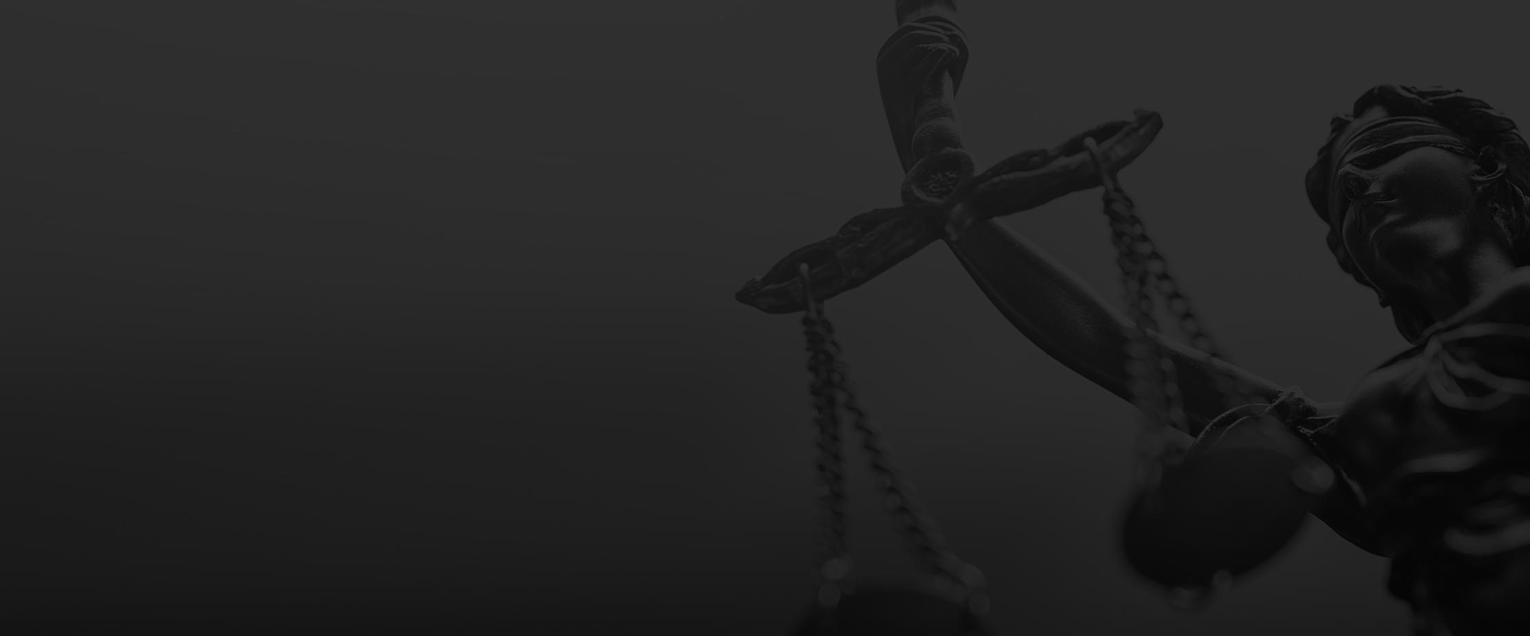 scales of justice, darkened