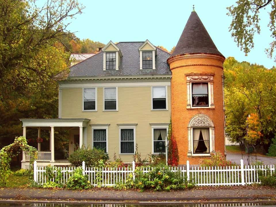 house in Vermont