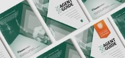 2020 Agent Guide copies laid out